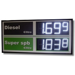 Display Prezzi Carburanti
